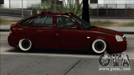 Lada Priora Ukrainian Stance for GTA San Andreas left view