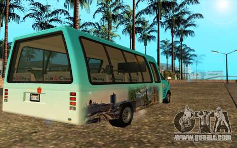 Iveco Custom Odessa for GTA San Andreas left view