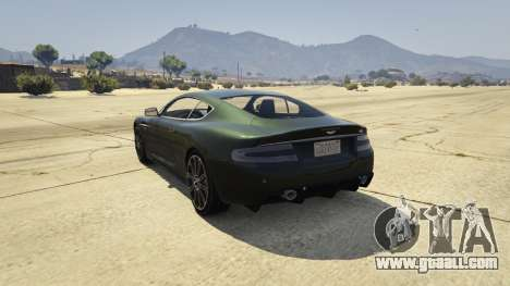 Aston Martin DBS for GTA 5