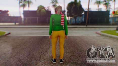 GTA Online Festive Surprise Skin 1 for GTA San Andreas third screenshot