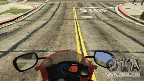 GTA 5 Suzuki Srad 750 rear right side view