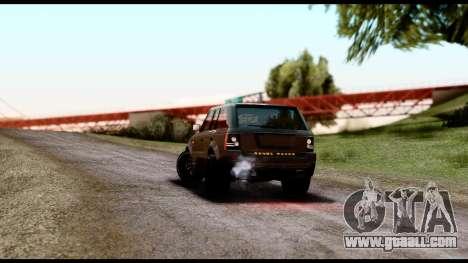 New HD Roads for GTA San Andreas second screenshot