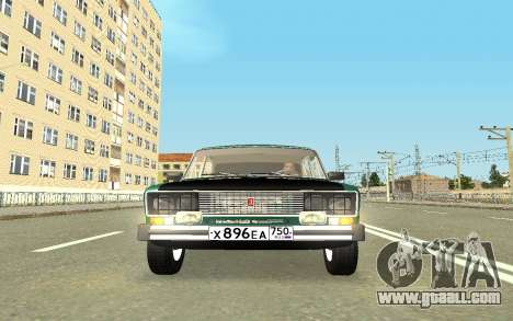 VAZ 2103 Sport tuning for GTA San Andreas upper view