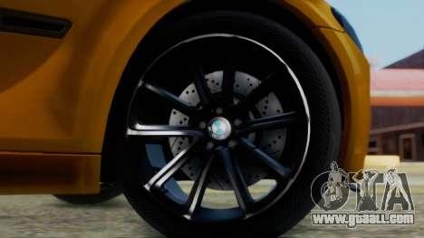 BMW 750Li M Sport for GTA San Andreas back left view