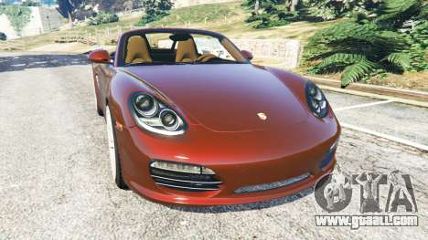 Porsche Boxster S 987 2010 for GTA 5