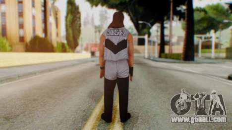 WWE Diesel 1 for GTA San Andreas third screenshot