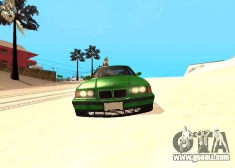 BMW E36 320i for GTA San Andreas right view