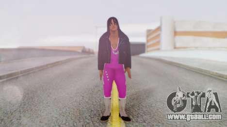 Bret Hart 2 for GTA San Andreas second screenshot