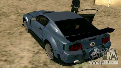 Ford Mustang GT for GTA San Andreas back left view