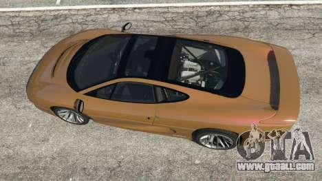 GTA 5 Jaguar XJ220 v1.2.5 back view