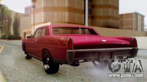 GTA 5 Vapid Chino Tunable PJ for GTA San Andreas left view