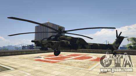 GTA 5 Mi-28 Night hunter second screenshot