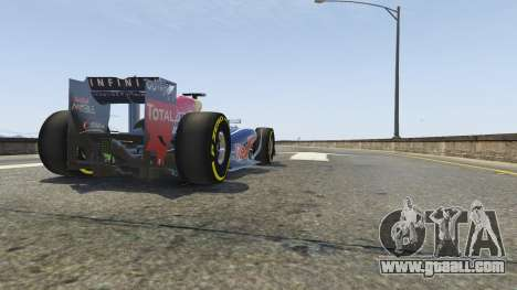 GTA 5 Red Bull F1 v2 redux rear right side view