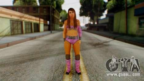 Layla WWE for GTA San Andreas second screenshot