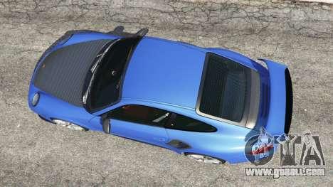 GTA 5 Porsche 997 GT2 RS back view