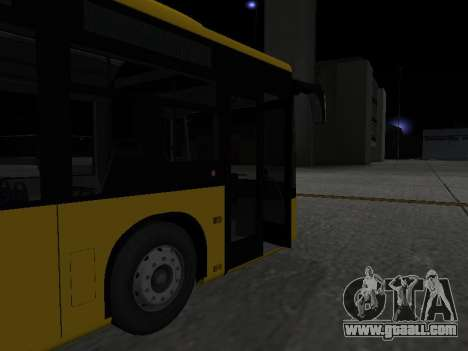 Mercedes-Benz O530 Citaro for GTA San Andreas bottom view