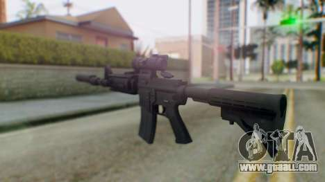 Arma Armed Assault M4A1 Aimpoint Silenced for GTA San Andreas second screenshot