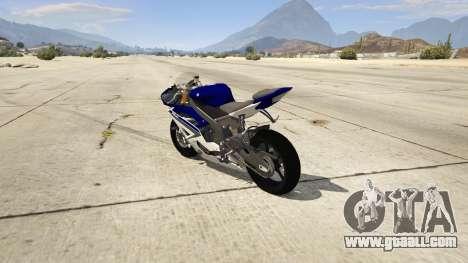 Yamaha YZF-R6 2014 for GTA 5