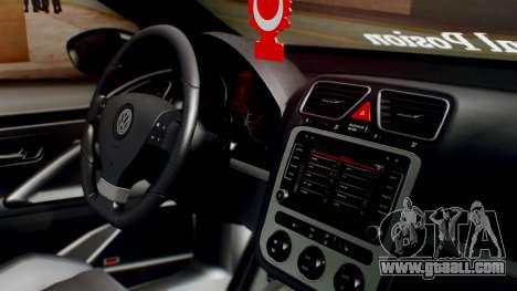 Volkswagen Scirocco R Army Edition for GTA San Andreas right view