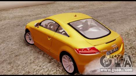 Audi TT RS for GTA San Andreas left view