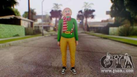 GTA Online Festive Surprise Skin 1 for GTA San Andreas second screenshot