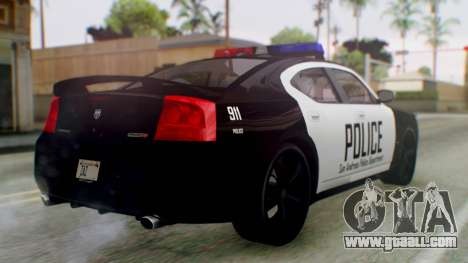 New Police LV for GTA San Andreas left view