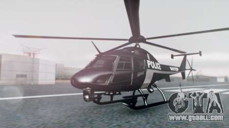 New Police Maverick for GTA San Andreas
