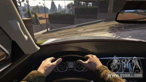 GTA 5 Infiniti QX56 rear right side view