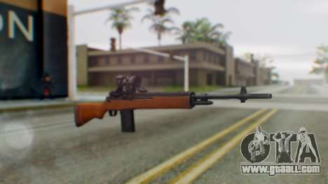 Arma2 M14 Assault Rifle for GTA San Andreas