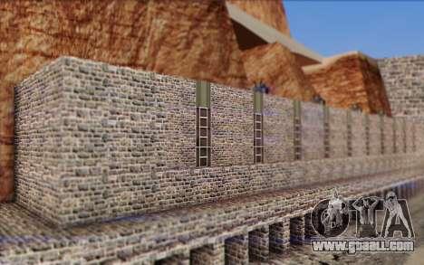 New dam for GTA San Andreas third screenshot