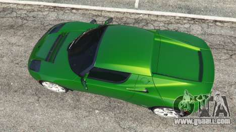 GTA 5 Tesla Roadster Sport 2011 back view