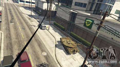 Merkava IV for GTA 5