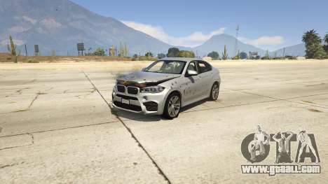 GTA 5 BMW X6M F16 Final front right side view
