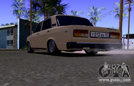 VAZ 2107 KBR for GTA San Andreas right view