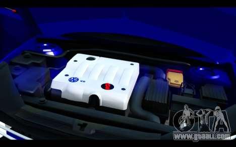 Volkswagen Jetta for GTA San Andreas upper view
