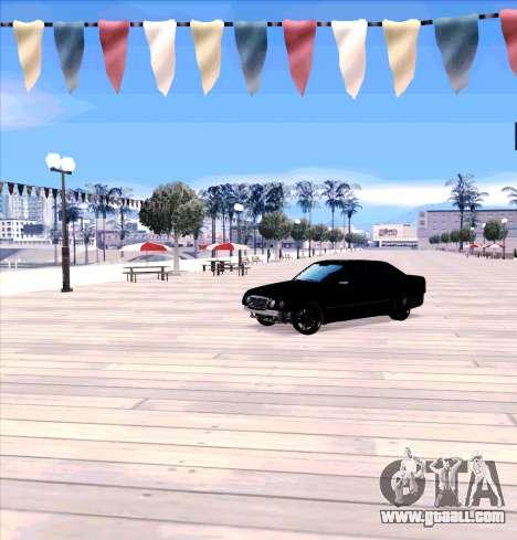 Mercedes Benz E-Class for GTA San Andreas left view