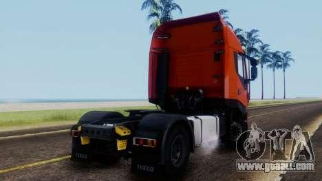 Iveco Stralis HI-WAY for GTA San Andreas left view
