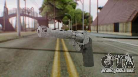 GTA 5 Platinum Revolver for GTA San Andreas