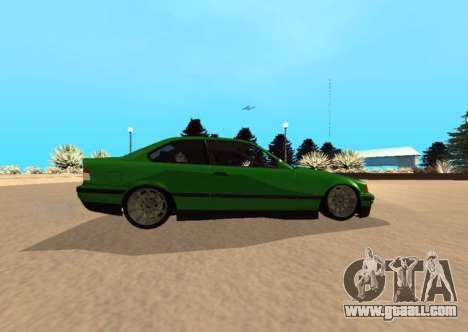 BMW E36 320i for GTA San Andreas left view