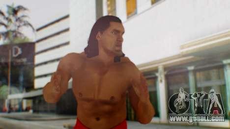 The Great Khali for GTA San Andreas