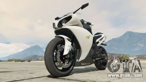 GTA 5 Yamaha YZF-R1 2014 right side view