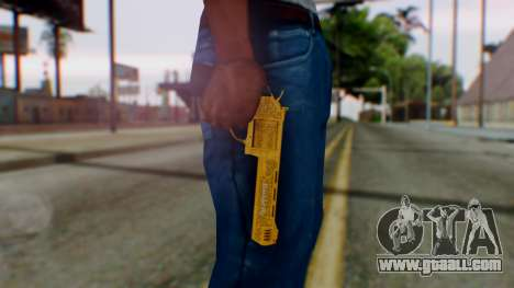 GTA 5 VIP Revolver for GTA San Andreas third screenshot