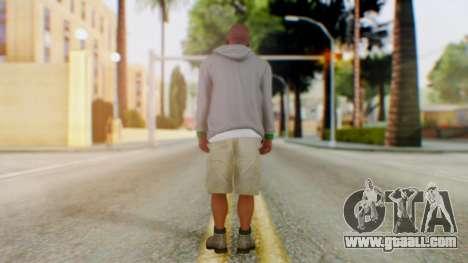 GTA 5 Franklin for GTA San Andreas third screenshot