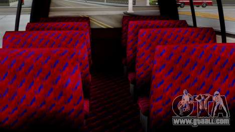 GTA 5 Rental Shuttle Bus Escalera Livery for GTA San Andreas right view