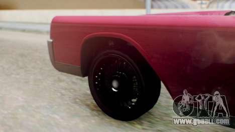 GTA 5 Vapid Chino Tunable PJ for GTA San Andreas back left view