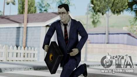 GMAN v1 from Half Life for GTA San Andreas