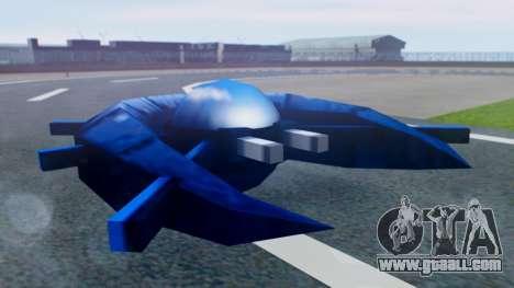 Alien Ship Dark Blue for GTA San Andreas