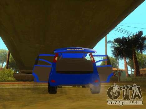 Nissan Note v0.5 Beta for GTA San Andreas interior