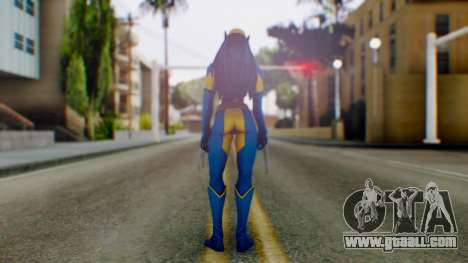 Marvel Heroes X-23 (All new Wolverine) v1 for GTA San Andreas third screenshot