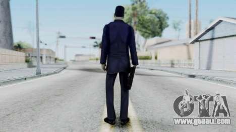 GMAN v1 from Half Life for GTA San Andreas third screenshot